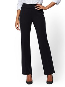 Petite Pull-On Straight Leg Pant - Signature - Pon