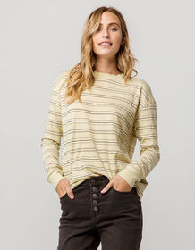 RVCA Feeder Stripe Womens Tee_