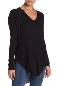 Free People Catalina Thermal Long Sleeve Top