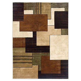 Home Dynamix Tribeca Box 3'3 x 4'7 Area Rug in Bro