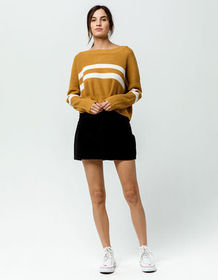 ROXY Java To Lombok Corduroy Mini Skirt_