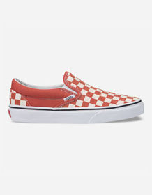 VANS Checkerboard Classic Slip-On Hot Sauce & True