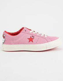 CONVERSE x Hello Kitty One Star Prism Pink & Firey