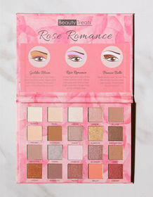 BEAUTY TREATS Rose Romance 15 Color Eyeshadow Pale