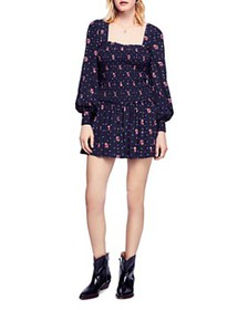 Free People - Two Faces Smocked Dress