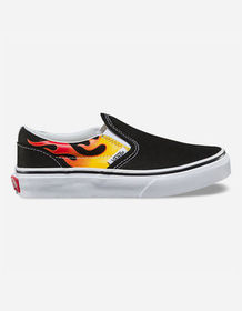 VANS Flame Classic Slip-On Kids Shoes_