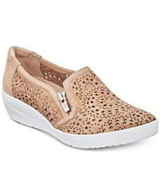 Anne Klein Sport Yvette Perforated Slip-On Sneaker