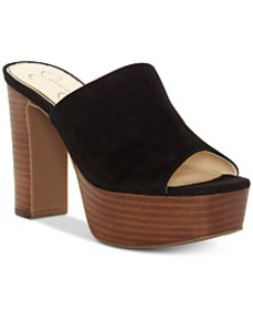 Jessica Simpson Camree Platform Slide Dress Sandal