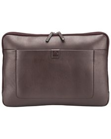 Delsey Pernety 14in Leather Laptop Sleeve~10408742