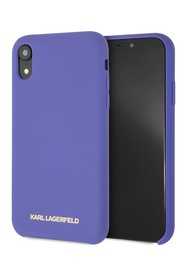Karl Lagerfeld Violet Silicone Soft Touch iPhone X