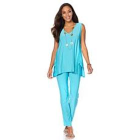 """Antthony """"Sweet Lace Days"""" Tank and Pant Set on sale at HSN"""