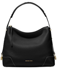 MICHAEL Michael Kors Crosby Pebble Leather Shoulde