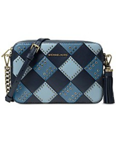 MICHAEL Michael Kors Woven Leather Camera Bag