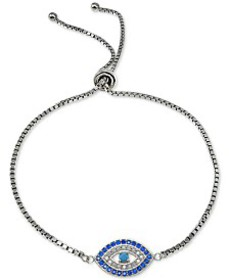 Giani Bernini Cubic Zirconia Evil Eye Slider Brace