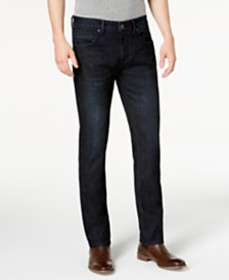 I.N.C. Stretch Slim Straight Jeans, Created for Ma