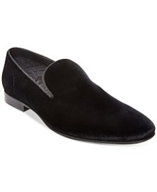 Steve Madden Men's Laight Velvet Smoking Slipper