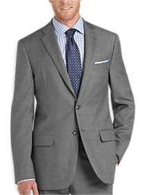 Joseph Abboud Sharkskin Slim Fit Suit