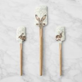Damask Bunny Spatula, Set of 3