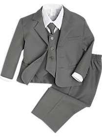Peanut Butter Collection Gray Toddler's Tuxedo