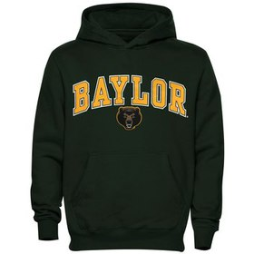 Baylor Bears Youth Midsized Pullover Hoodie - Fore