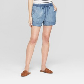 Women's Pull On Shorts - Universal Thread™ Bl