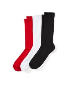 Ralph Lauren Athletic Reflector Sock 3-Pack