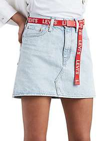 Levi's Ice Cold Denim Mini Skirt ICE COLD