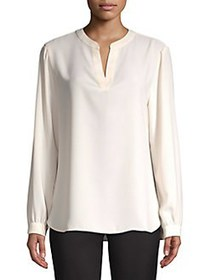 Anne Klein Classic High-Low Top ANNE WHITE