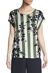 Vero Moda Floral Short-Sleeve Top LAUREL WREATH