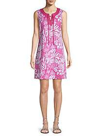 Tommy Bahama Flora Lucia Lace-Up Flare Dress VERY