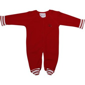 Rutgers Scarlet Knights Infant Stripe Footed Creep