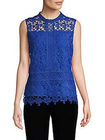 Laundry by Shelli Segal Venise Lace Sleeveless Top