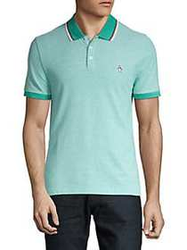 Original Penguin Tipped Birdseye Cotton Polo BRIGH