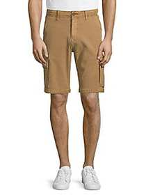 Lucky Brand Cotton-Blend Cargo Shorts PALE ALE