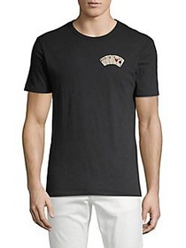 Lucky Brand Aces Over 8 Graphic T-Shirt JET BLACK