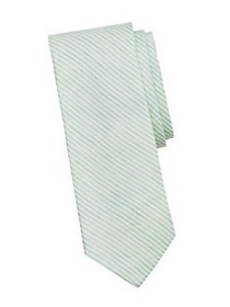 Brooks Brothers Tie Candy Striped Linen-Blend Tie