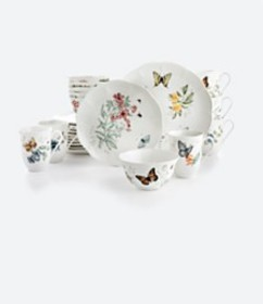 Lenox Butterfly Meadow 24-PC Dinnerware Set Servic