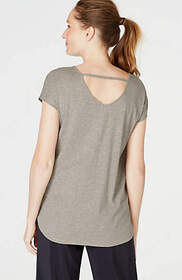 Fit Open-Back Tee