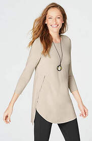 Wearever Side-Overlay Tunic