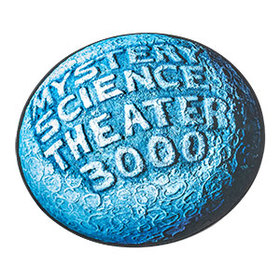 Mystery Science Theater 3000 Round Logo Mat