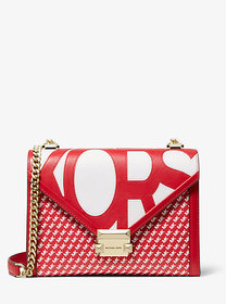 Michael Kors Whitney Large Graphic Logo Convertibl