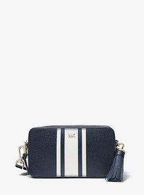 Michael Kors Small Logo Tape Camera Bag