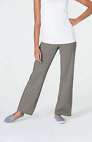 Pure Jill Freestyle Ribbed-Waist Pants