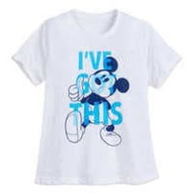 Disney Mickey Mouse Confetti T-Shirt for Women