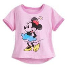 Disney Minnie Mouse Classic Ringer T-Shirt for Gir