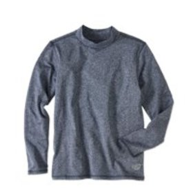 Brushed Poly Mock Neck Active Top (Little Boys & B