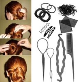 Hair Styling Accessory Magic Clip Maker Tools Pads