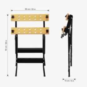 Finether Multi-Purpose Folding Workbench and Vice