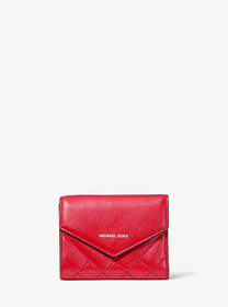 Michael Kors Small Quilted Leather Envelope Wallet