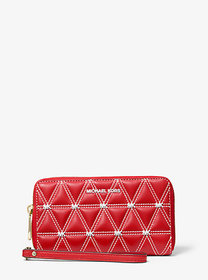Michael Kors Large Quilted Leather Smartphone Wris